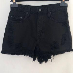 Nobody denim high waisted shorts